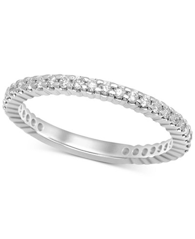 Diamond Eternity Band (1/2 ct. t.w.) in 14k White Gold