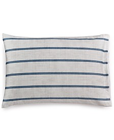 Hotel Collection Colonnade Blue Pair of Standard Shams