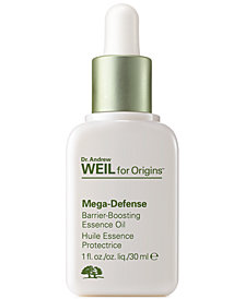 Origins Dr. Andrew Weil Mega-Defense Barrier-Boosting Essence Oil, 1 fl. oz.
