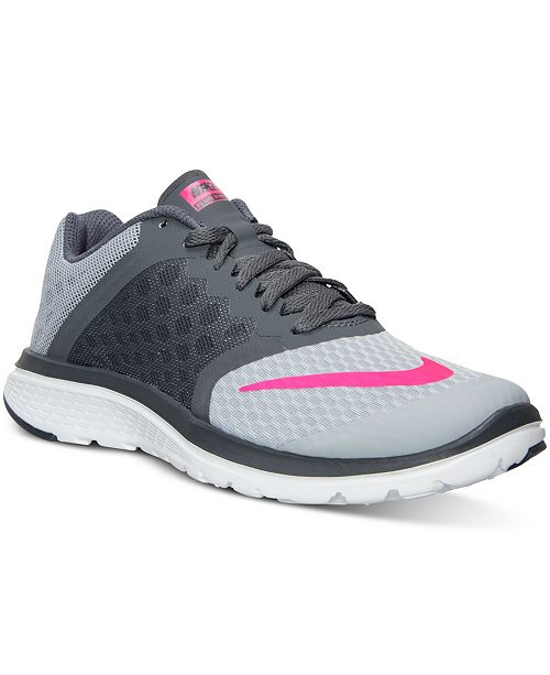 hot sale online f405d 815ce ... Nike Women s FS Lite Run 3 Running Sneakers from Finish ...