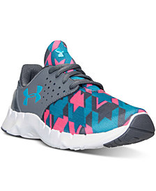 Under Armour Little Girls' Flow Running Sneakers from Finish Line