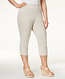 Style & Co Plus Size Capri Pants, Created for Macy's