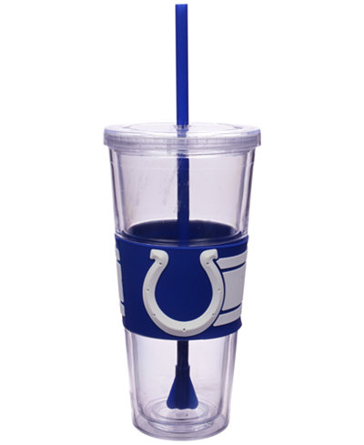 Boelter Brands Indianapolis Colts 22 oz. Hyped Straw Tumbler