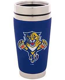 Hunter Manufacturing Florida Panthers 16 oz. Stainless Steel Travel Tumbler