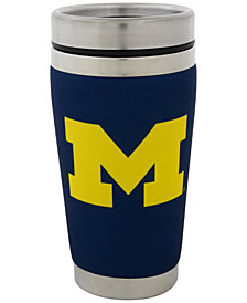 Hunter Manufacturing Michigan Wolverines 16 oz. Stainless Steel Travel Tumbler