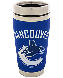 Hunter Manufacturing Vancouver Canucks 16 oz. Stainless Steel Travel Tumbler