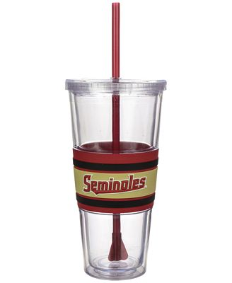 Boelter Brands Florida State Seminoles 22 oz. Hyped Straw Tumbler