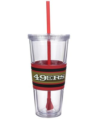 Boelter Brands San Francisco 49ers 22 oz. Hyped Straw Tumbler