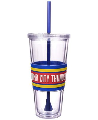 Boelter Brands Oklahoma City Thunder 22 oz. Hyped Straw Tumbler