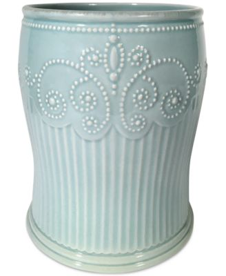 French Perle Groove Wastebasket