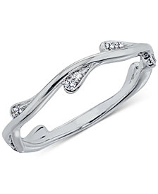 Diamond Band (1/10 ct. t.w.) in 14k White Gold, Rose Gold or Gold