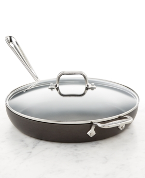 "All-Clad Hard Anodized 12"" Fry with Lid"
