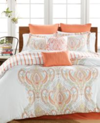 CLOSEOUT! Jordanna Coral 8-Pc. Comforter Sets, Created for Macy's