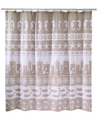 Sea & Sand Shower Curtain