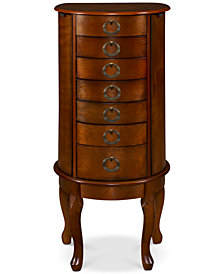 Terri Jewelry Armoire, Quick Ship