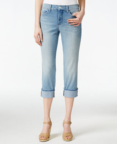 NYDJ Dayla Manhattan Beach Wash Cropped Jeans