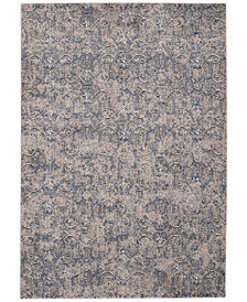 "CLOSEOUT!! Kelly Ripa Home Origin KRH11 Navy 7'9"" x 10'10"" Area Rug"