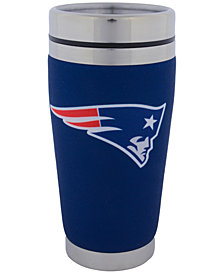 Hunter Manufacturing New England Patriots 16 oz. Stainless Steel Travel Tumbler