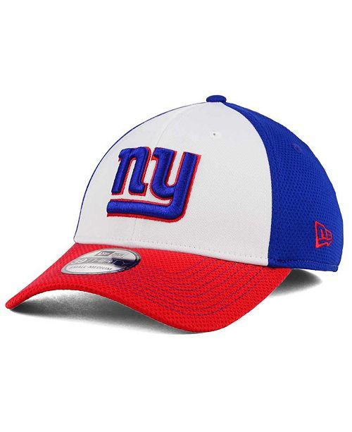86b6eba3ccb ... New Era New York Giants Chase White Front Mesh 39THIRTY Cap ...