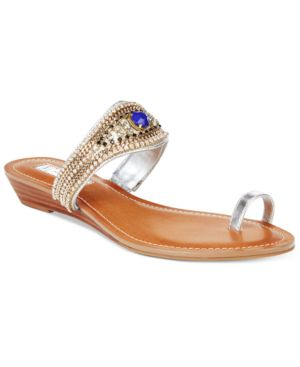 Inc International Concepts Brae Wedge Sandals, Created for Macy