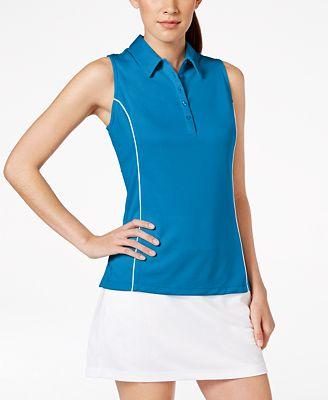 PGA TOUR SunFlux UPF Protection AirFlux Sleeveless Polo Shirt