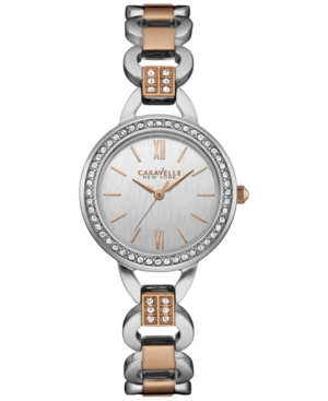Caravelle New York by Bulova Women's Two-Tone Stainless Steel Bracelet Watch 28mm 45L157