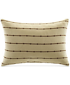 "Croscill Bali 14"" x 20"" Embroidered Decorative Pillow"