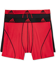 adidas Men's Climalite 2 Pack Boxer Brief