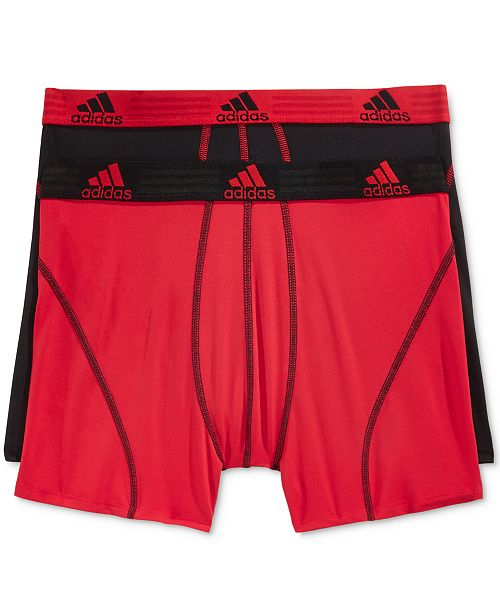 899cb3656dbb adidas Men's Climalite 2 Pack Boxer Brief; adidas Men's Climalite 2 Pack  Boxer ...