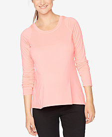 Motherhood Maternity Long-Sleeve Tee