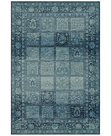 CLOSEOUT! D Style Menagerie MEN1544 Sky Blue Area Rugs