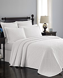 Castle Matelasse Bedspreads and Shams, Created for Macy's