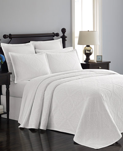 Martha Stewart Collection Castle Matelass 233 Bedspreads And