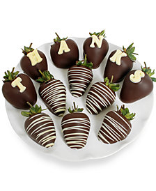 "Chocolate Covered Company 12-pc. ""Thanks"" Berry Gram"
