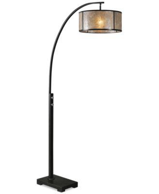 Uttermost Cairano Arc Floor Lamp