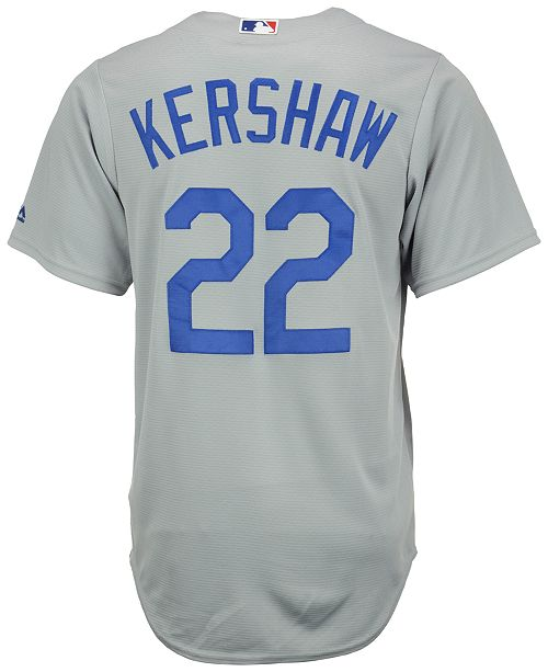 buy popular 14933 74413 Men's Clayton Kershaw Los Angeles Dodgers Replica Jersey