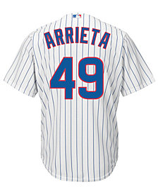 Majestic Kids' Jake Arrieta Chicago Cubs Replica Jersey, Big Boys (8-20)