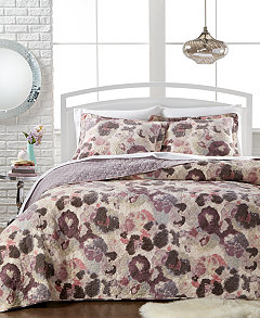 CLOSEOUT! Celine Quilt Sets - Quilts & Bedspreads - Bed & Bath ... : twin quilt sets - Adamdwight.com