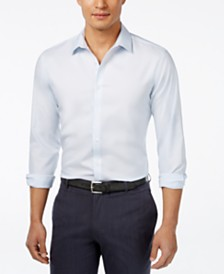 I.N.C. Men's Kurt Non-Iron Shirt, Created for Macy's