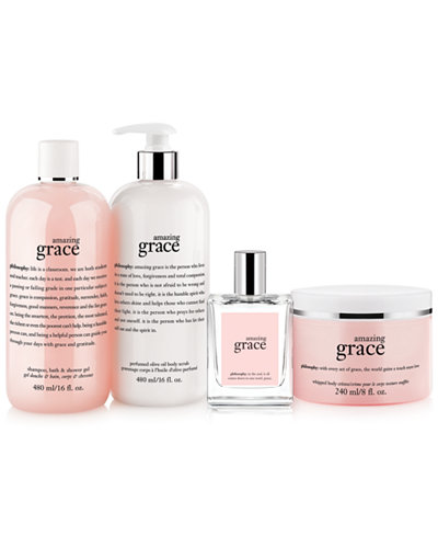 philosophy amazing grace collection