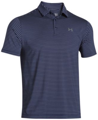 Under Armour. Men\u0027s Playoff Performance Striped Golf Polo. 17 reviews.  $64.99