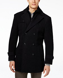 Labrada Double-Breasted Wool-Blend Peacoat