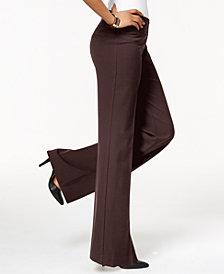 Style & Co Stretch Wide-Leg Pants, Created for Macy's