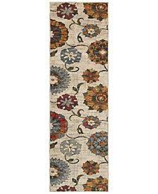"Oriental Weavers Sedona 6361A 2'3"" x 7'6"" Runner Rug"