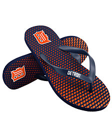 Forever Collectibles Detroit Tigers High End Flip Flops