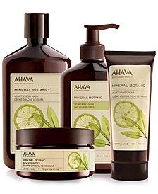 Ahava Lemon and Sage Mineral Botanic Collection