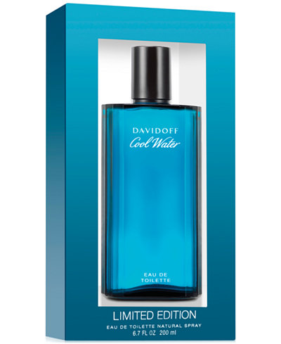Davidoff Cool Water for Men Eau de Toilette Spray, 6.7 oz