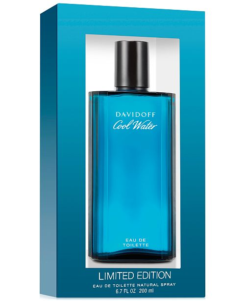 239028dd0 Davidoff Cool Water for Men Eau de Toilette Spray, 6.7 oz & Reviews ...