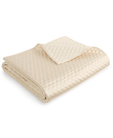 Hotel Collection Dimensions Champagne Full/Queen Coverlet, Created for Macy's