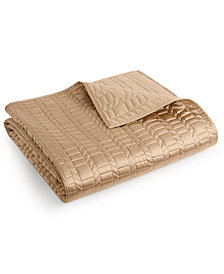 Hotel Collection Onyx King Coverlet, Created for Macy's